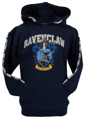 Licensed Unisex Kids Harry Potter Ravenclaw Hoodie sizes 1 year to 13 years Navy