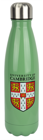 Licensed Cambridge University Stainless Steel insulated metal water bottle 480ML Hot or Cold