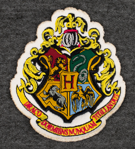 HP201 Licensed Unisex Harry Potter Hogwarts Embroidered Sweatshirt - British Heritage Brands