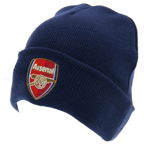 Official Licensed Arsenal Football Club Ski Hat Beanie Red Colour - British Heritage Brands
