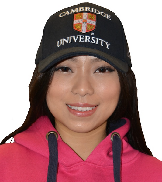 Licensed Cambridge University Baseball Cap Navy Colour - British Heritage Brands