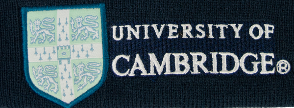 Licensed Cambridge University Ski Hat Beanie Navy Colour - British Heritage Brands
