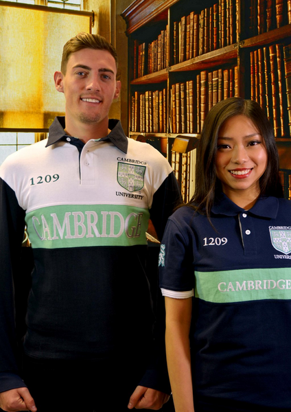 Licensed Cambridge University Unisex Polo Shirt - British Heritage Brands