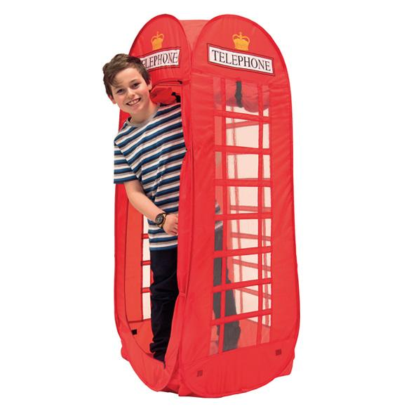 Pop Up Telephone Box Tent (HRD-TEL) - British Heritage Brands