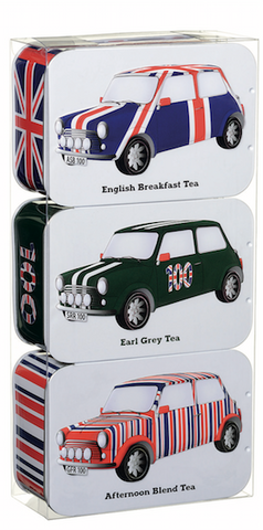 Heritage Cars Tea Tin Gift Pack (JFCARSET) by British Heritage Cars - British Heritage Brands