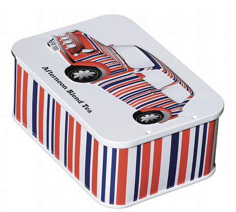 Tin 10 English Afternoon Blend Teabags (JFSTCAR) by British Heritage Cars - British Heritage Brands