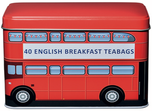 Red Bus 40 English Breakfast Tea Bags (REDBUS) - British Heritage Brands