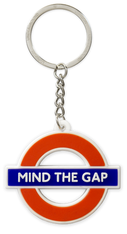 TFL2005 Licensed Ductile Mind the Gap Keyring - British Heritage Brands