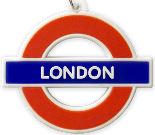 TFL2006 Licensed Ductile London Roundel Keyring - British Heritage Brands