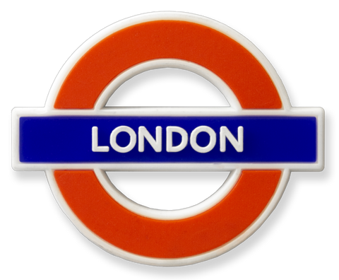 TFL3003 Licensed London Ductile/Rubber Fridge Magnet - British Heritage Brands