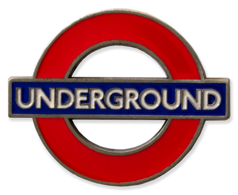 TFL3004 Licensed Underground Fridge Metal Magnet - British Heritage Brands