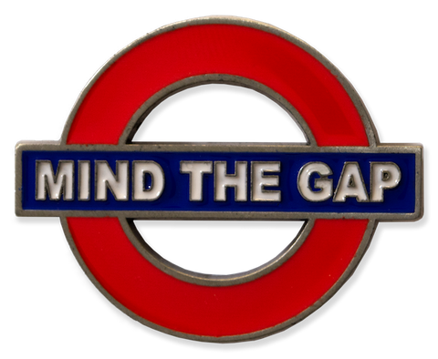 TFL3005 Licensed Mind the Gap Fridge Metal Magnet - British Heritage Brands