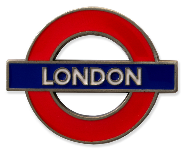 TFL3006 Licensed London Roundel Metal Fridge Magnet - British Heritage Brands