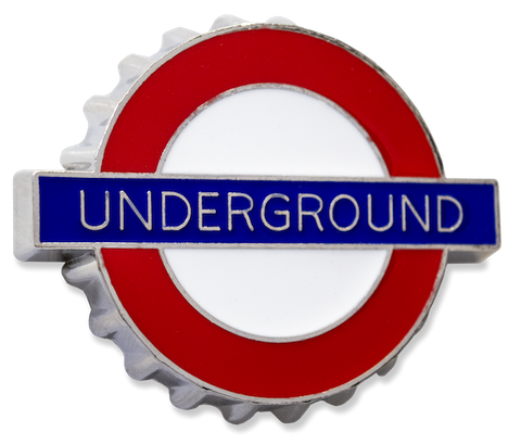 TFL3007 Licensed Underground Bottle opener Fridge Magnet - British Heritage Brands