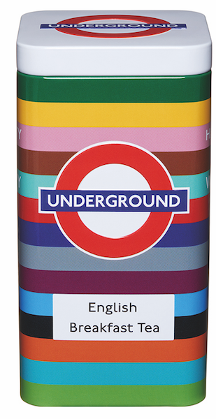Licensed London Underground Tube Lines 40 English Breakfast Tea Bags (125G) - British Heritage Brands
