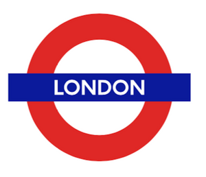 TFL5103 Licensed London Roundel Vinyl Sticker - British Heritage Brands