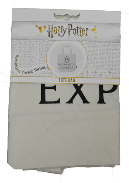 Licensed Harry Potter Hogwart Express 93/4 Platform Print Tote Bag - British Heritage Brands