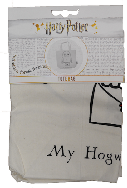 Licensed Harry Potter Hedwig Print Tote Bag - British Heritage Brands