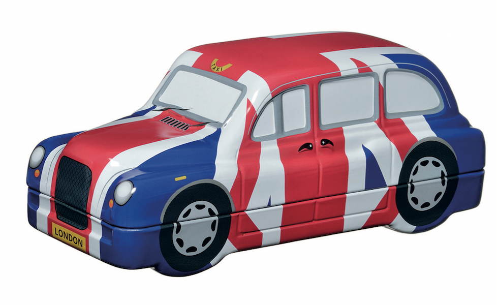 Licensed Union Jack Taxi 40 English Breakfast Teabags (UJTAXI) - British Heritage Brands