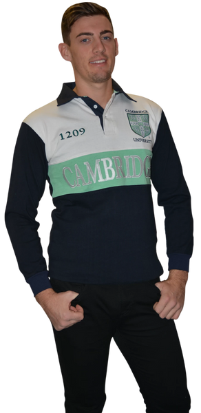Licensed Cambridge University Unisex Rugby Shirt - British Heritage Brands