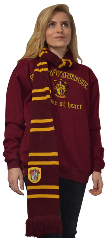 Licensed Harry Potter Gryffindor Long Scarf Original Size - British Heritage Brands