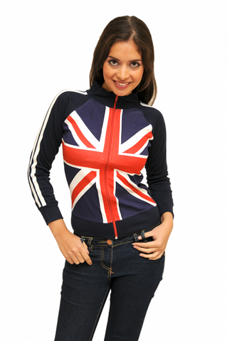 Union Jack Ladies Fitted Jacket - British Heritage Brands