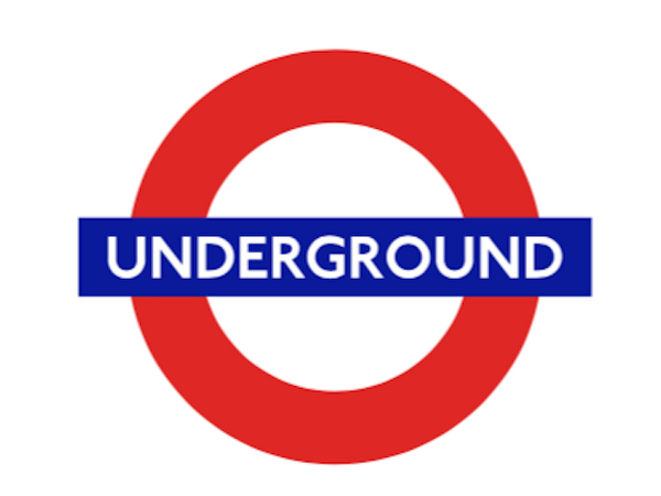 TFL5101 Licensed Underground Vinyl Sticker - British Heritage Brands