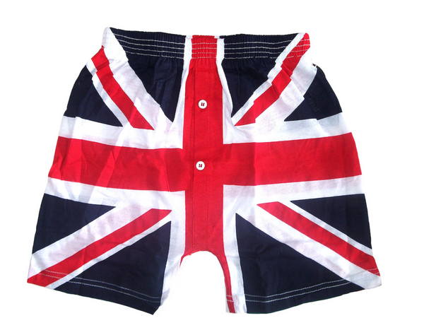 Union Jack Boxer shorts British UK Flag Perfect Gift