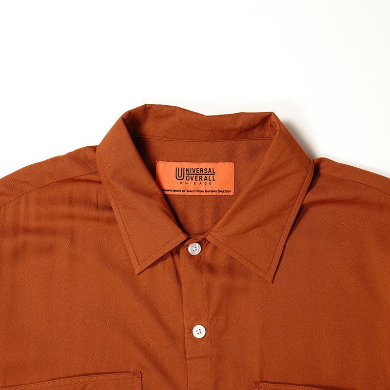 OPEN COLLAR SHIRT【U913168】