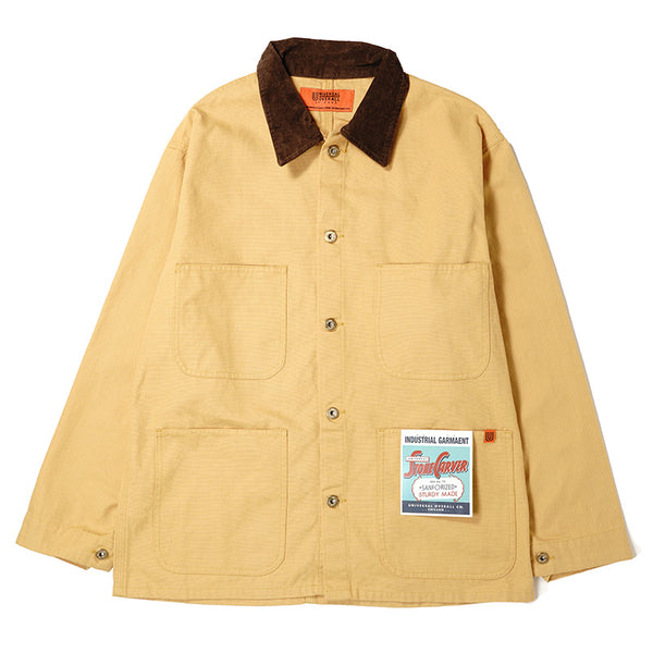CORDURY COLLAR COVERALL【U7434231】