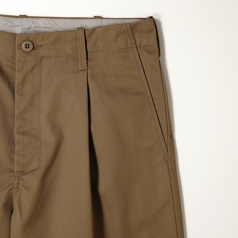 【FUDGE 9月号掲載商品】INDUSTRIAL TUCK PANTS【U7426249】