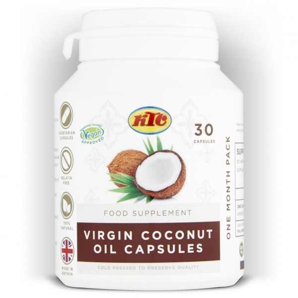 COCONUT OIL SUPPLEMENT CAPSULES - SkinLinc Healthy Skincare