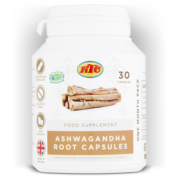 ASHWAGANDHA SUPPLEMENT CAPSULES - SkinLinc Healthy Skincare