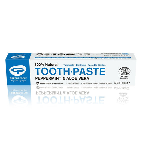 PEPPERMINT & ALOE VERA TOOTHPASTE 50ML