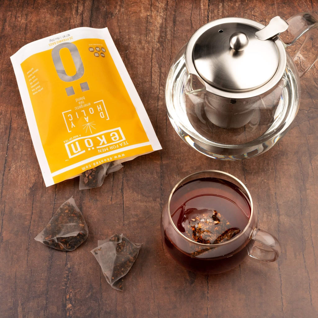 Dayholic (Tea Bags) - Energy Boosting Tea Blend - ekontea