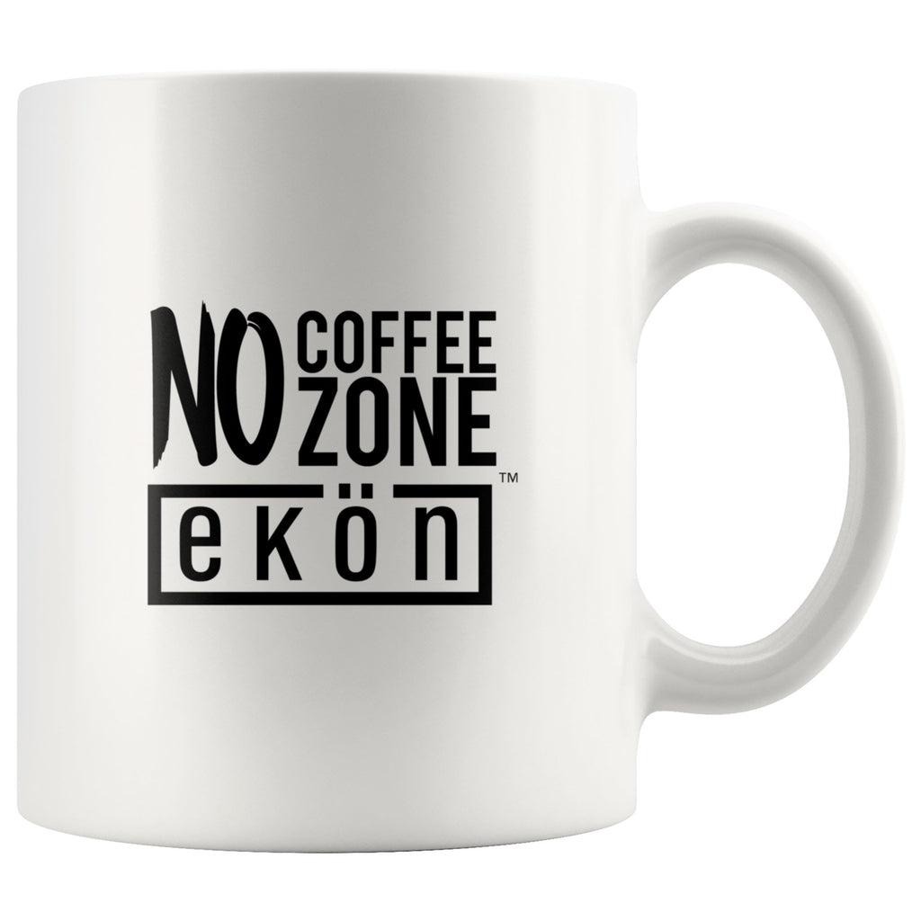 No Coffee Zone Mug (White) - ekontea