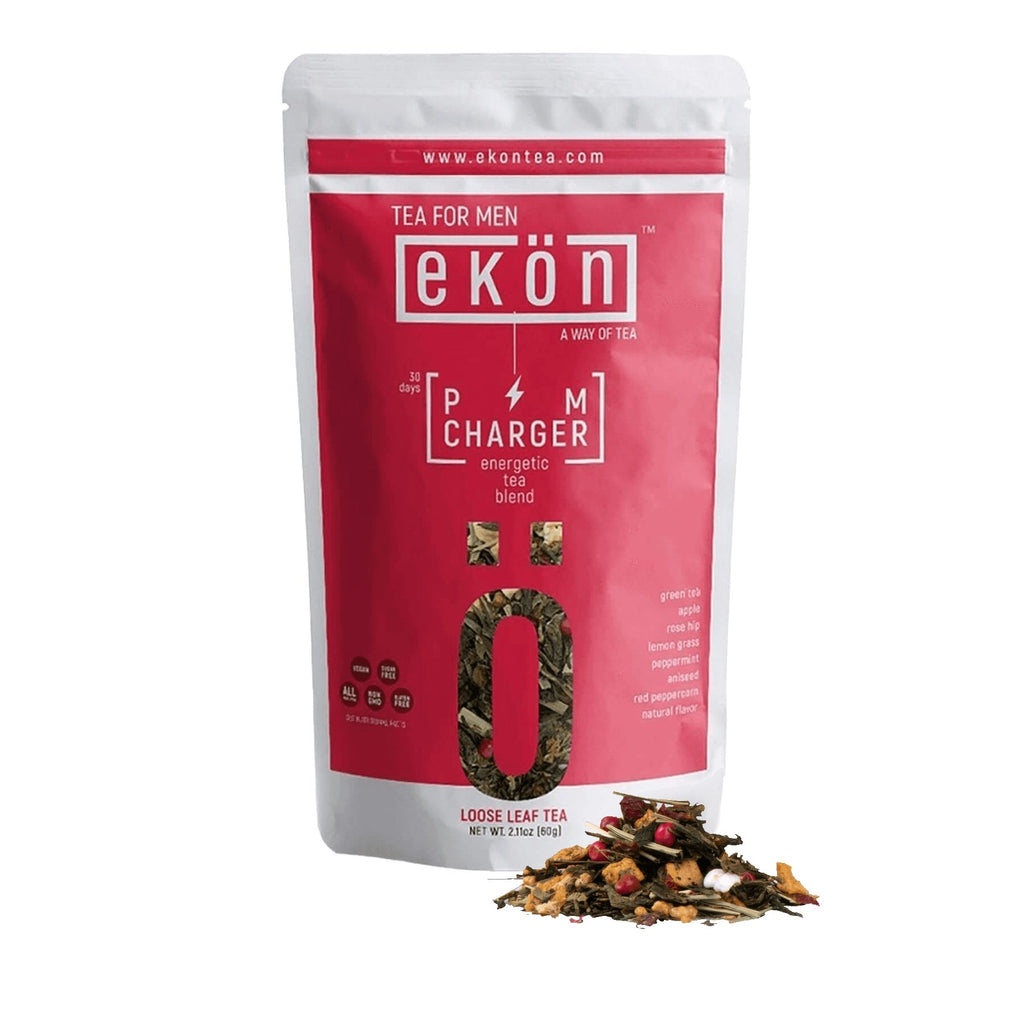 PM Charger - Digestion Boosting Tea Blend (Medium Caffeine) - ekontea