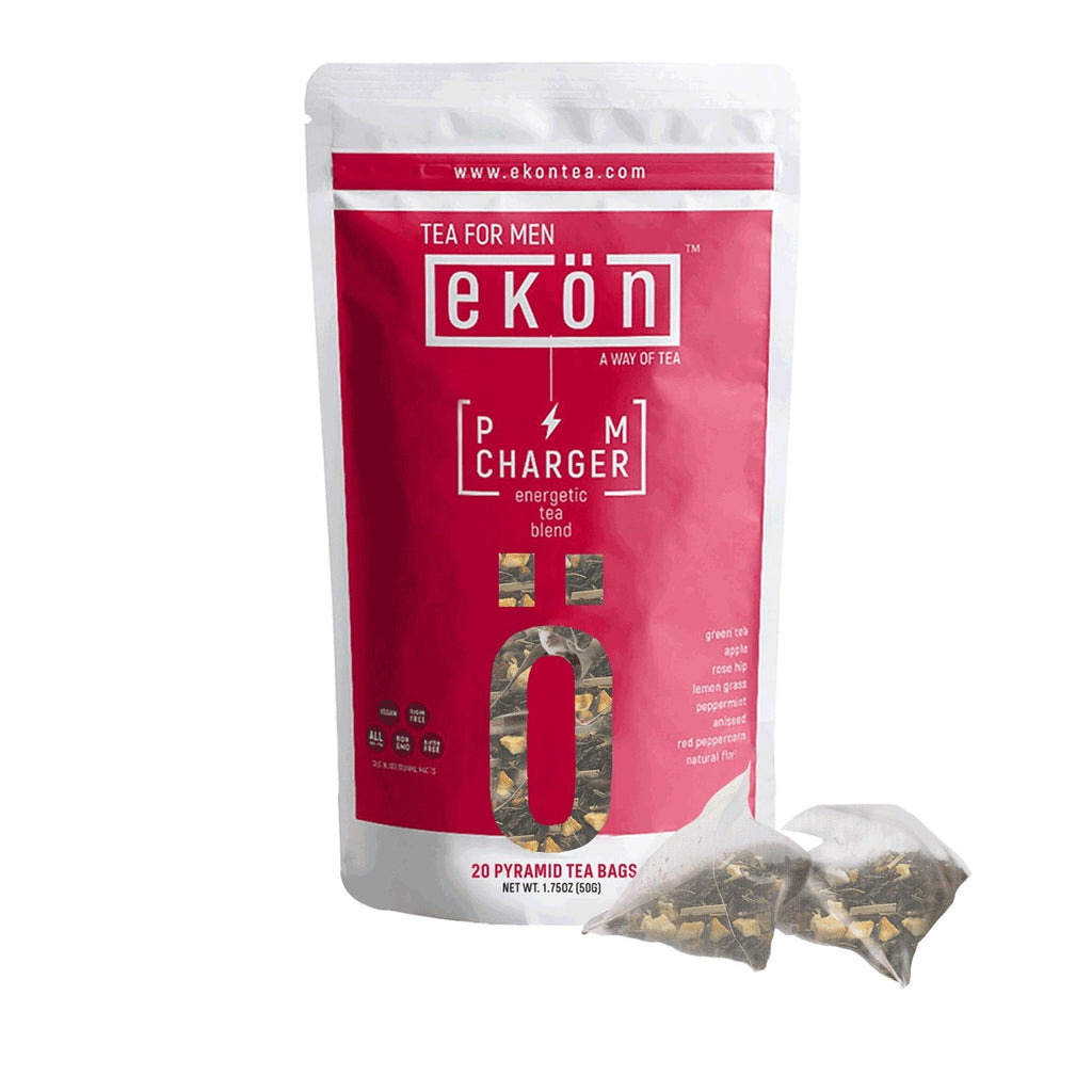 PM Charger (Tea Bags) - Digestion Boosting Tea Blend - ekontea