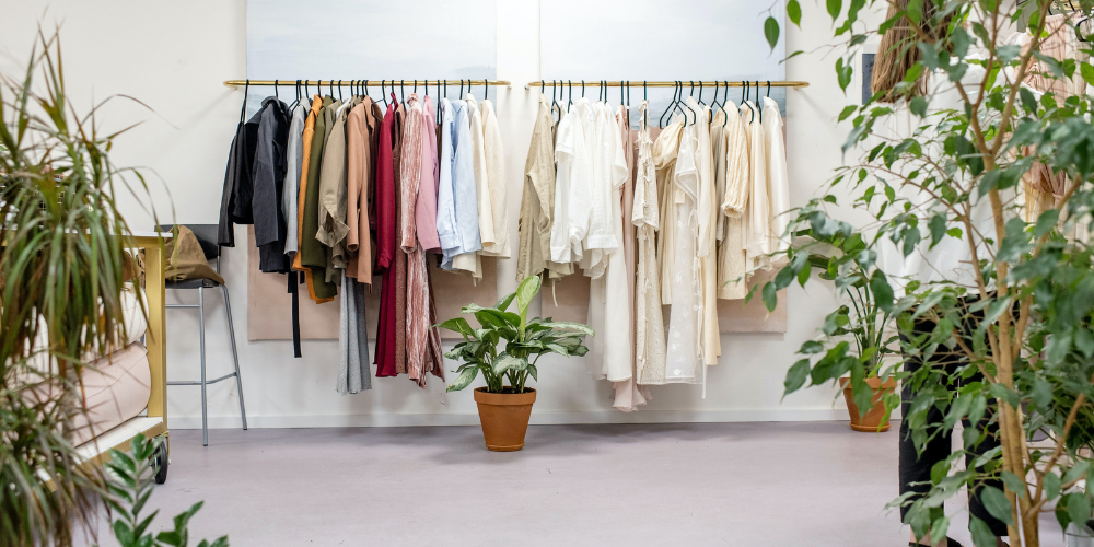 Dressing Vêtements Plantes Vertes
