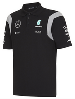 Mercedes AMG Petronas 2016 Team Black Polo