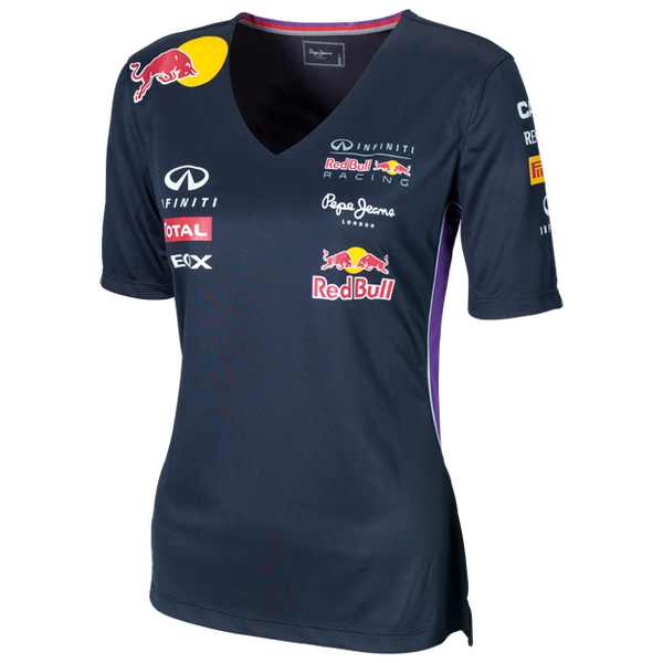 Infiniti Red Bull Racing 2014 Women V-Neck T-Shirt