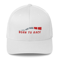 Born To Race Structured Twill Cap