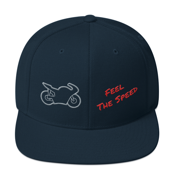 Feel The Speed Snapback Hat