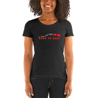 Born to Race Ladies' Short Sleeve T-shirt