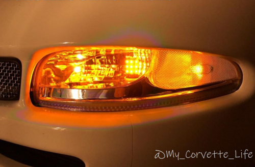 1997-2013 Day Time Running Lights Solid AMBER