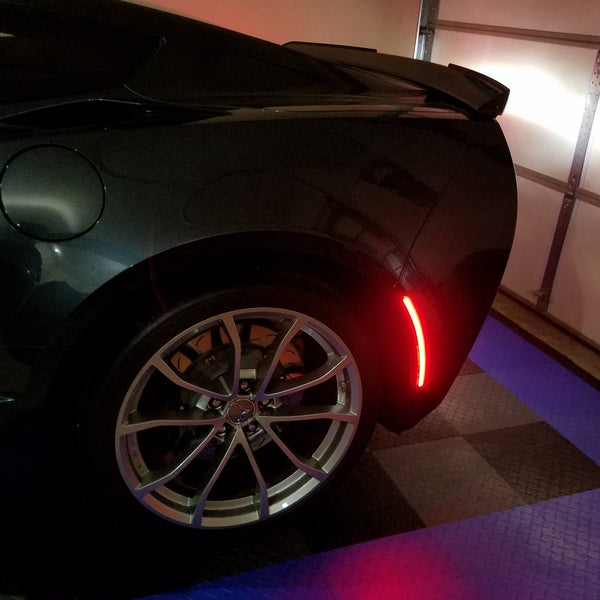 C7 Smoked LED Koncept Side Markers set