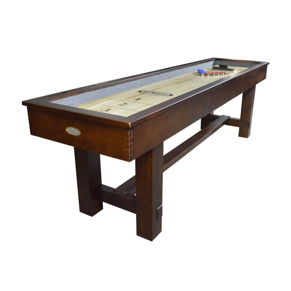Imperial Reno Rustic Antique Walnut 9' Shuffleboard Table