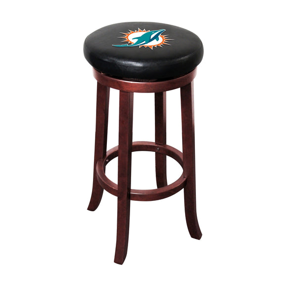 Imperial Miami Dolphins Wood Bar Stool