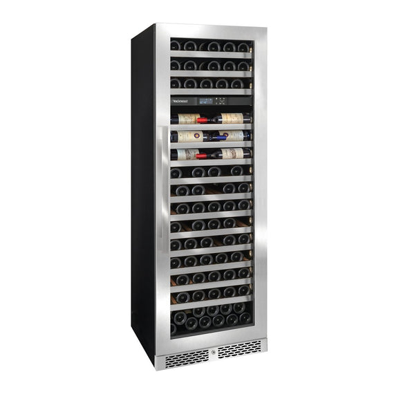 Vinotheque Café Dual Zone MAX Wine Cellar with Steady-Temp™ Cooling (Stainless Steel Door)