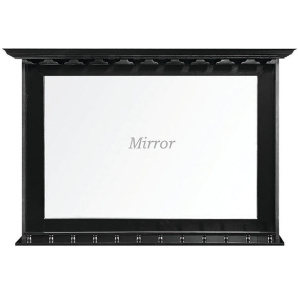 RAM Game Room Bar Mirror - Black